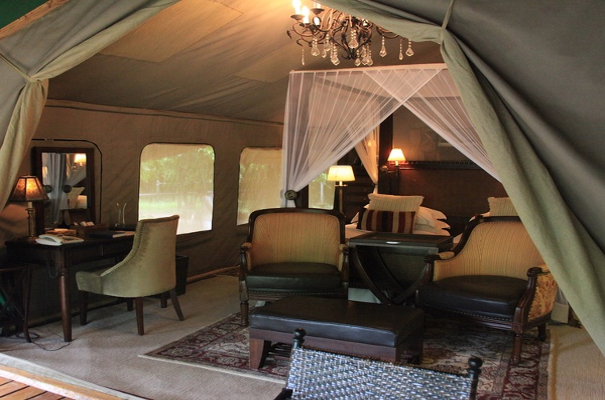 Selous Serena Tented Camp